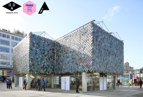 Peoples Pavilion van bureau SLA en Overtreders W wint de Dutch Design Award, Frame Awards en de ARC18