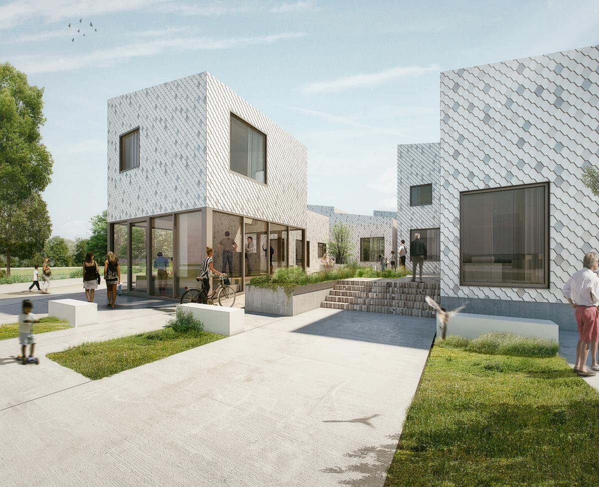 Who cares: neighborhood community circles build modern courtyards