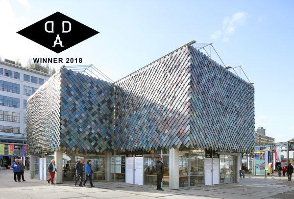 People's Pavilion, wins Dutch Design Award in category Habitat
